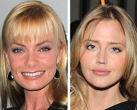 Police Question Jaime Pressly and Estella Warren on Phone Fight