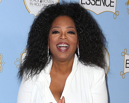 Video! Oprah Winfrey is 'Happy' to Be Getting Older