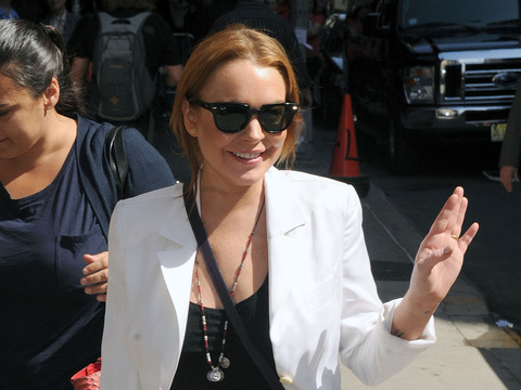 Lindsay Lohan to David Letterman: Rehab Is a Blessing and Not a Curse