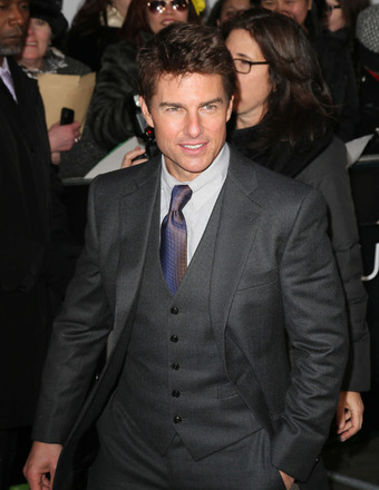 Tom Cruise Visits Suri in New York City