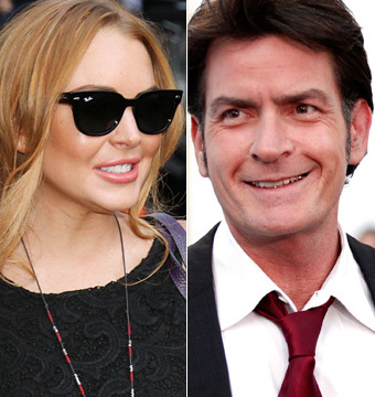 Lindsay Lohan and Charlie Sheen Plan 'Scary' Date