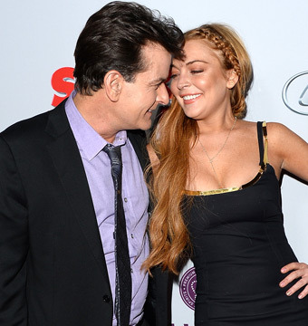 Charlie Sheen Offers Lindsay Lohan a Job on 'Anger Management'