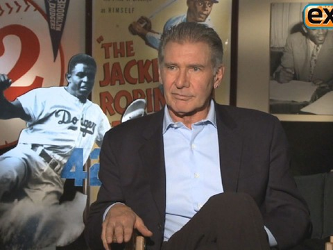Harrison Ford Talks '42,' 'Anchorman 2,' 'Star Wars' and More