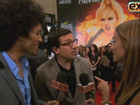 'Extra' Raw! At the 2013 MTV Movie Awards