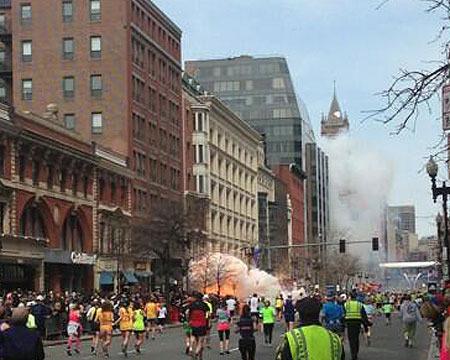 Explosions at Boston Marathon; 2 Confirmed Dead, Dozens Injured