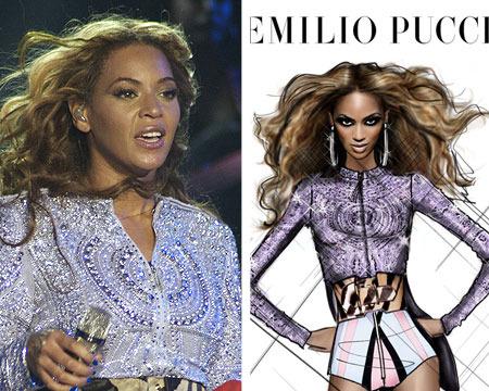 Pics! Beyoncé's Sexy 'Mrs. Carter Show' Costumes