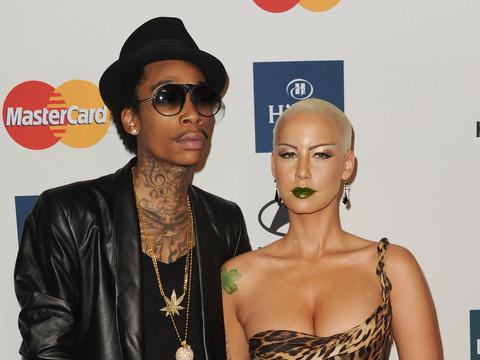 See Amber Rose's New Wiz Khalifa Tattoo