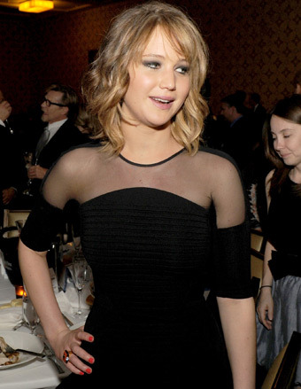 Pic! Jennifer Lawrence's New Haircut and Dye Job