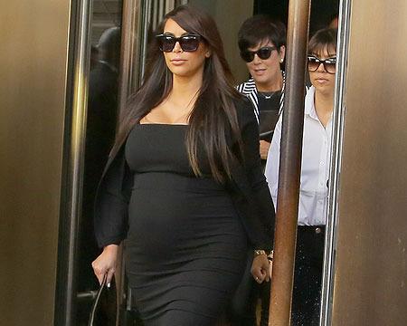 Kim Kardashian: Pregnancy 'Hurts,' Wants to Marry Again