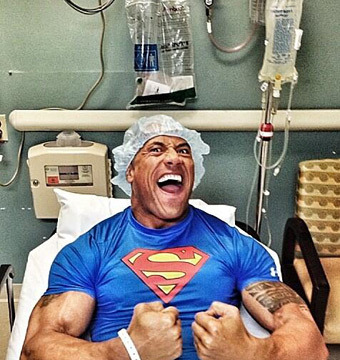 Dwayne Johnson Recovering After Emergency Surgery