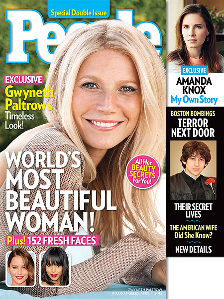 Gwyneth Paltrow Says Her Kids Don't See Her as 2013 Most Beautiful Woman