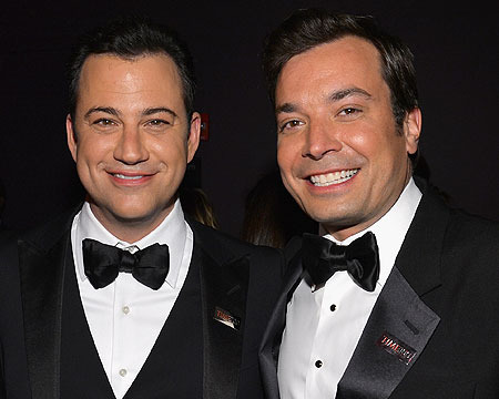 Kimmel and Fallon on the Late-Night Changes