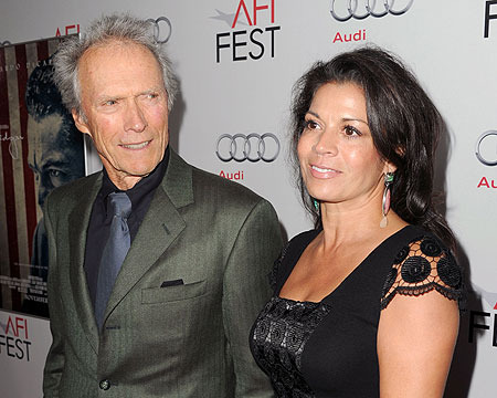 Clint Eastwood's Wife Checks into Rehab