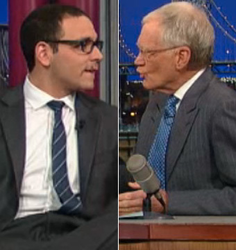 Fired Anchor Tells Letterman: 'I Crawled in Bed and Called My Parents'