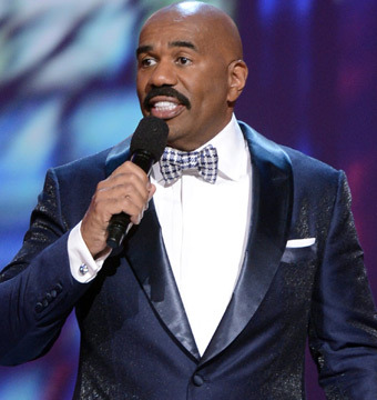 Steve Harvey on Being Oprah's Heir: 'I'm Little O'