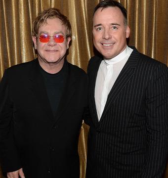 Elton John and David Furnish Reveal Baby Elijah's Godmother