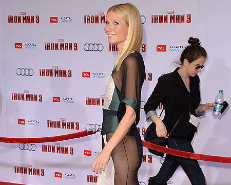 Gwyneth Paltrow 'Humiliated' over Sheer Premiere Dress