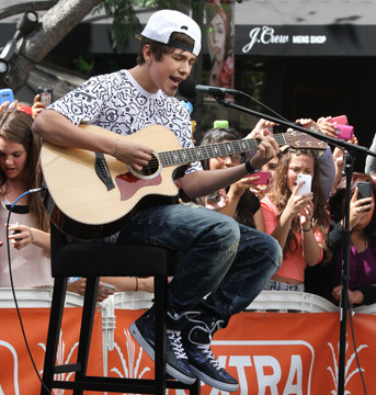Austin Mahone on Being Labeled the 'New' Justin Bieber