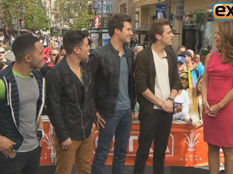 Big Time Rush Mania at The Grove!