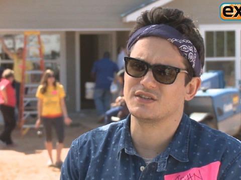 Video! John Mayer Helps Veterans Housing Project
