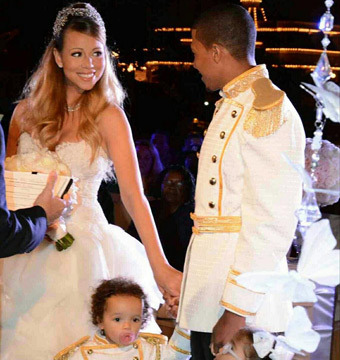 Mariah Carey & Nick Cannon Renew Vows at Disneyland