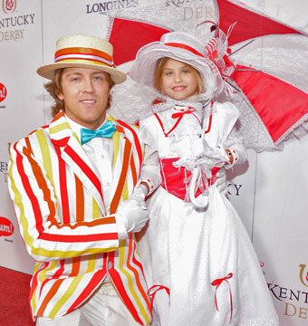 Pic! Anna Nicole Smith's Daughter Gets Dolled Up for Kentucky Derby