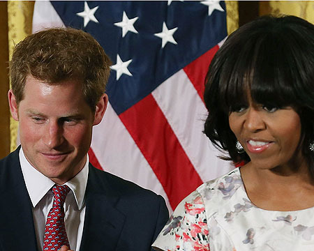 Extra Scoop: Prince Harry US Tour: First Stop, The White House