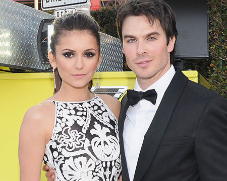Report: Nina Dobrev and 'Vampire' BF Ian Somerhalder Split