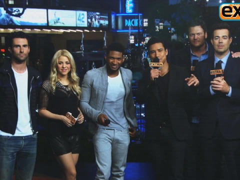 'Extra' Special 'The Voice' Event to Air Monday!