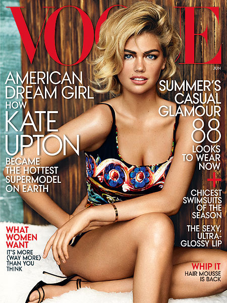 Kate Upton on Being Curvy: 'I Can't Change Some Things'
