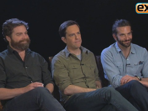 'Extra' Raw! Joking with the 'Hangover 3' Wolf Pack