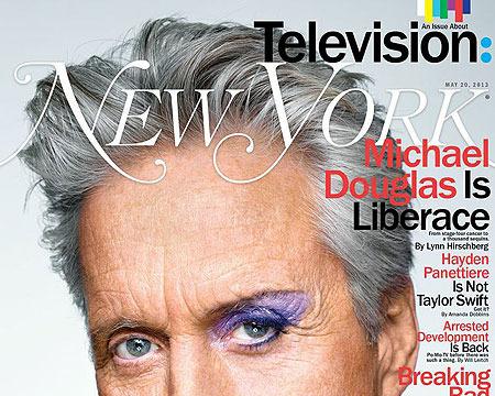 Michael Douglas Talks Liberace, Sex Scenes, and His Son in Jail