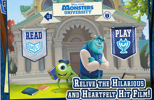 Find Out About the New 'Monsters University' App!