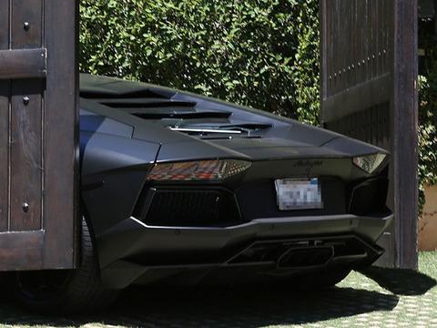 Kanye West's $750K Lamborghini Nearly Crushed by Kim K's Gate