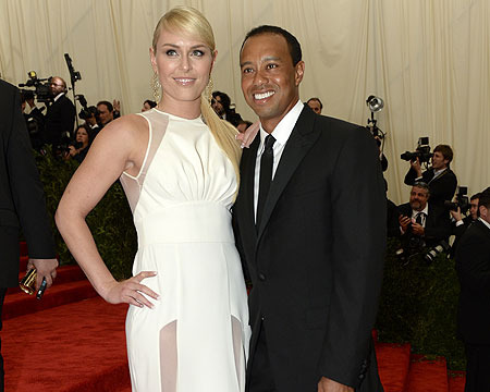 Lindsey Vonn Takes Tiger's Kids to School … Elin Approved?