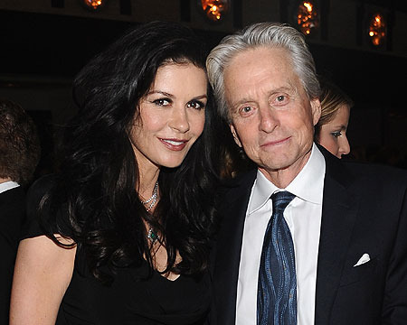 Michael Douglas on Catherine Zeta-Jones: 'She's Raring to Go!'