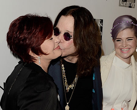 Pic! Ozzy and Sharon… Together Again