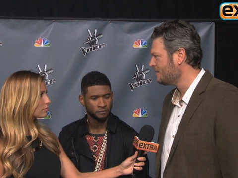 Blake Shelton on Oklahoma Victims Tribute with Miranda Lambert