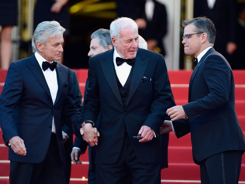 Matt Damon, Michael Douglas and Jerry Weintraub Talk 'Behind the Candelabra'