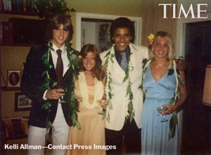 See President Obama's Prom Photos!