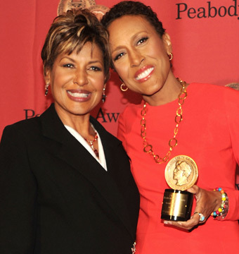 Robin Roberts' Sister Sally-Ann: 'We're Twins'