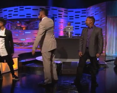 'Fresh Prince' Reunion: Will Smith, Alfonso Ribeiro and Jazzy Jeff Do the 'Carlton Dance'