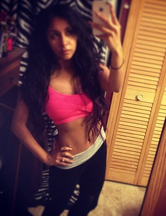 Abs Alert! Snooki Shows Off Post-Baby Bod