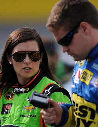 Danica Patrick's Boyfriend Wrecks Car in NASCAR Race