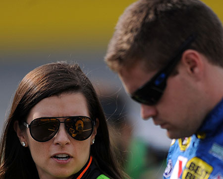 Danica Patrick's Boyfriend Wrecks Car in NASCAR Race