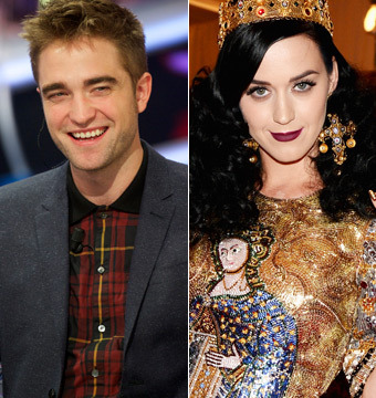 Robert Pattinson and Katy Perry Crash Wedding Rehearsal