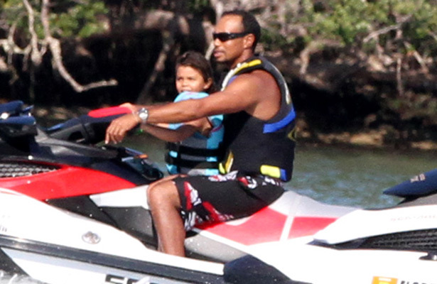 Tiger Vonn Jet Skiing: Woods and Lindsey Hit Water with ... Bar Refaeli Divorce