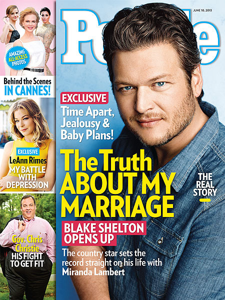 Blake Shelton on His Marriage: 'There Are No Secrets'