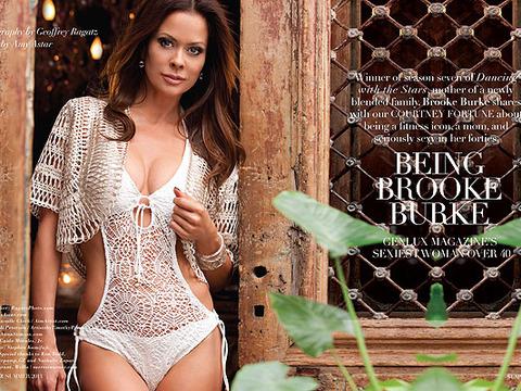 Brooke Burke Charvet's Sexy Crocheted Monokini