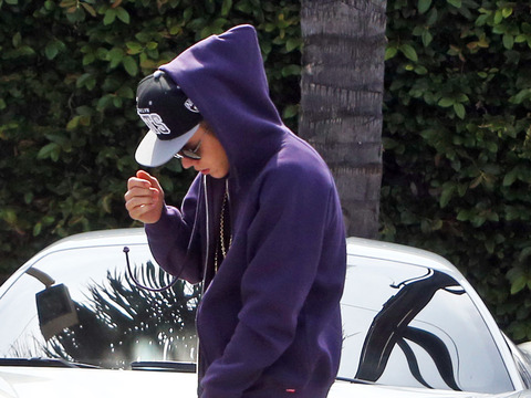 Report: Justin Bieber Pulled Over for Speeding?